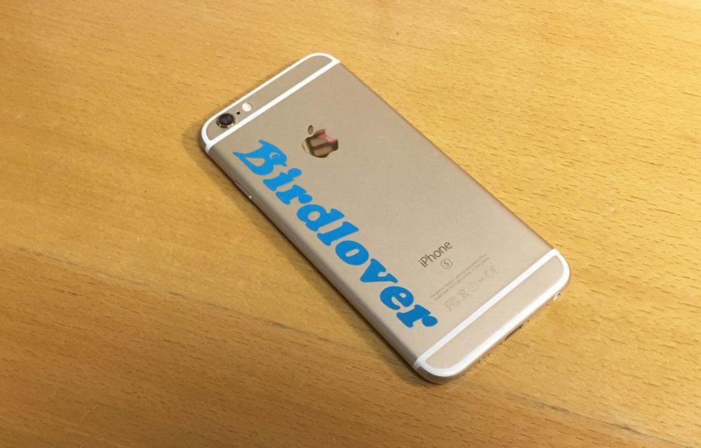 iPhoneへ貼ってみた