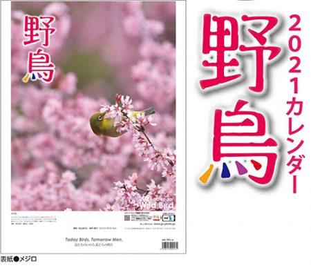 野鳥カレンダー2021年